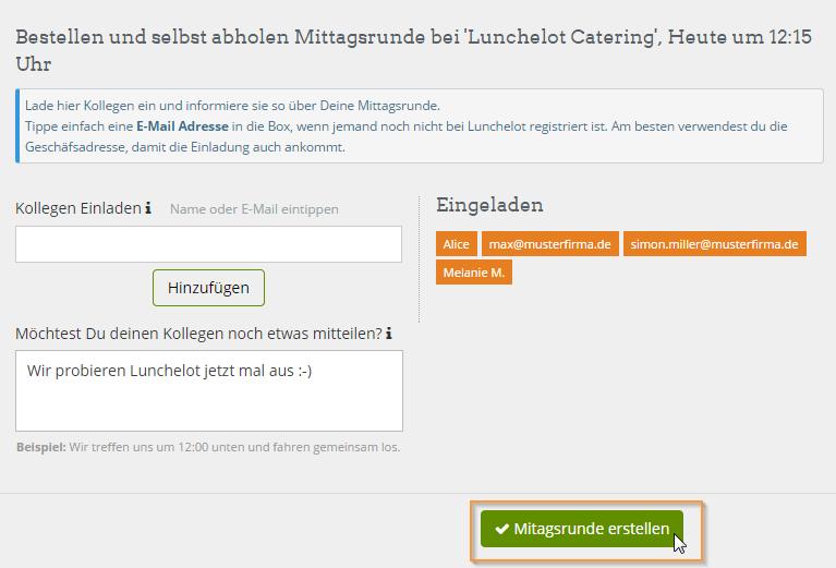 Einladung Essen Kollegen – thegirlsroom.co